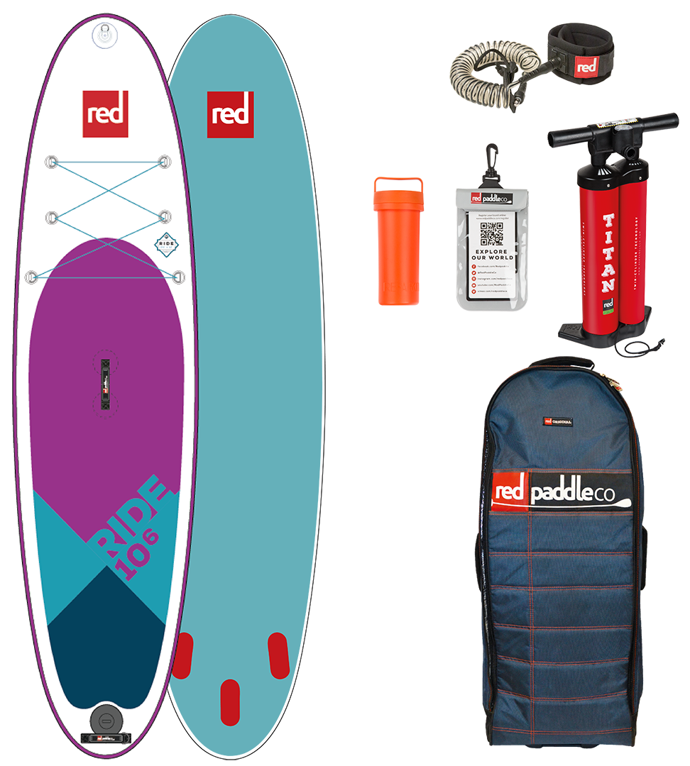 "НАДУВНАЯ SUP ДОСКА RED PADDLE 2018/2019 10'6"" RIDE SPECIAL EDITION"